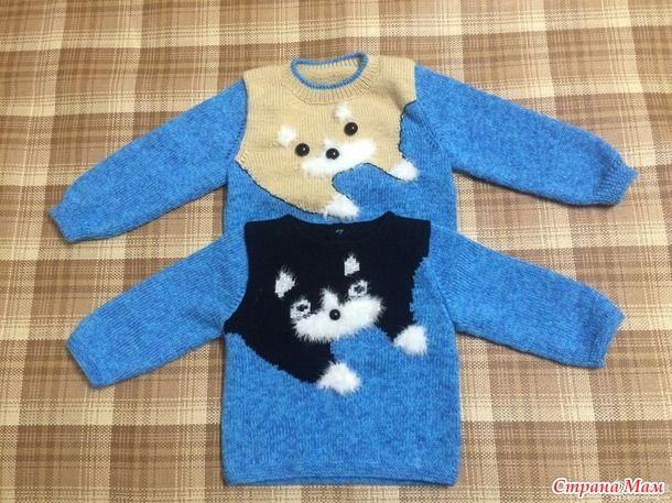 Вязанная одежда для мальчиков-2 - Вязание для детей - Страна Мам