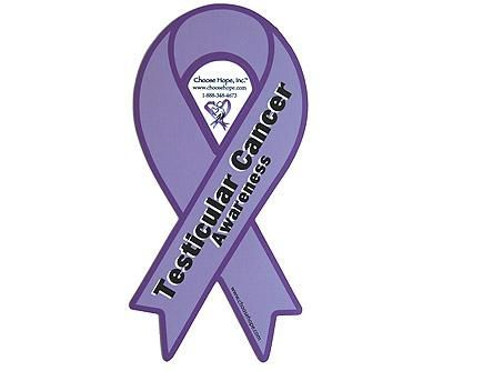 Testicular Cancer Awareness Month Ribbon Orchid Color Cancer For