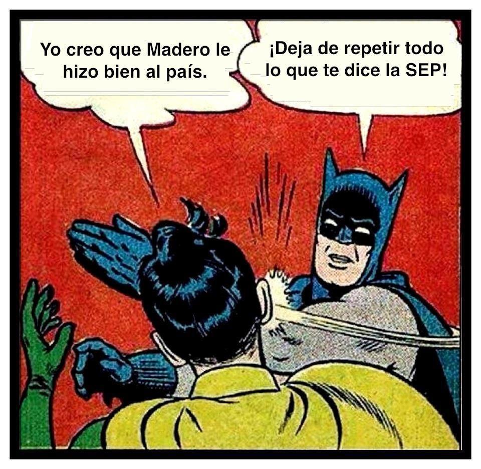 ¡Deja de repetir todo lo que dice la SEP!