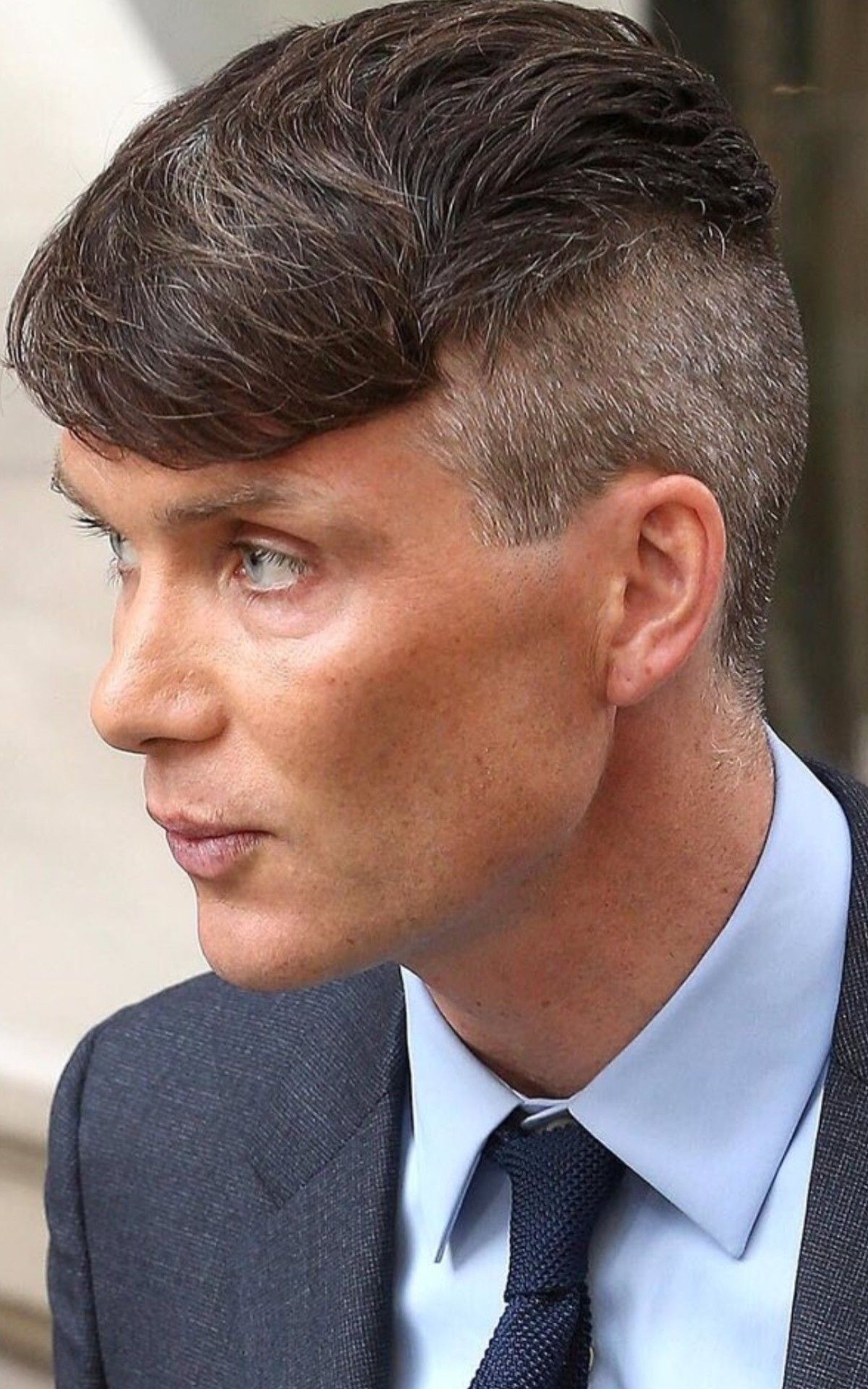Cillian Murphy aka Mr Peaky Blinders 💙  Peaky blinders hair