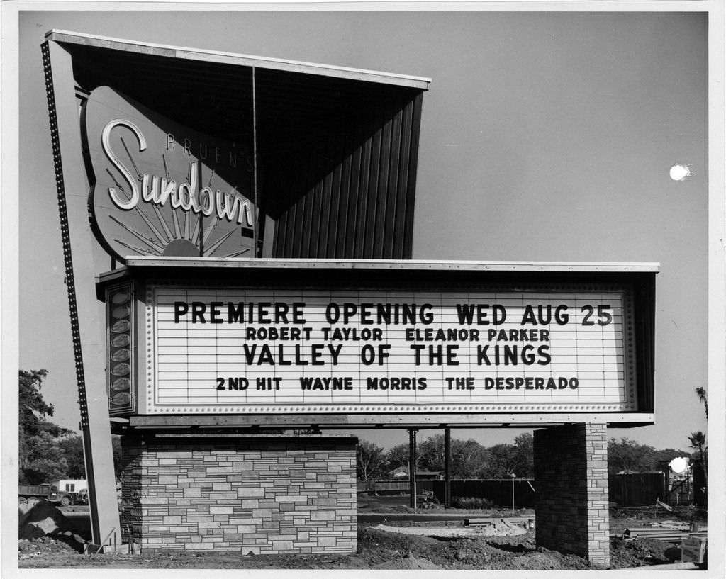 Vintage Movie Marquee A Photo On Flickriver Drive In Theater Movie Marquee Drive In Movie Theater