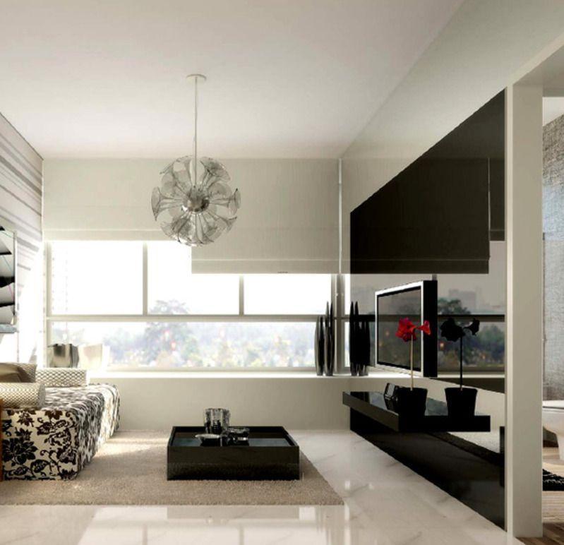 Beautiful Condo Living Rooms: Modern-luxury-interior-design-of
