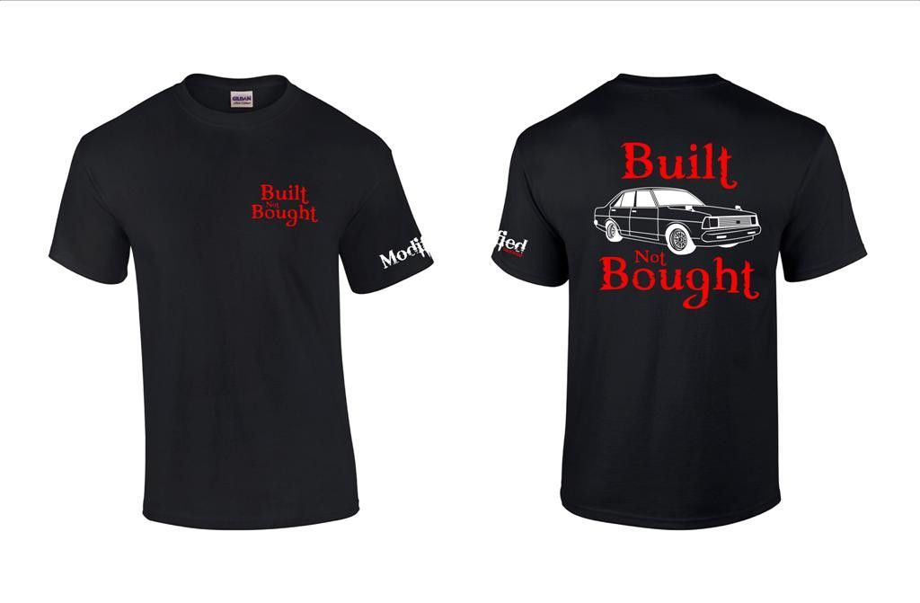 Built not Bought B310 Coupe Shirt
