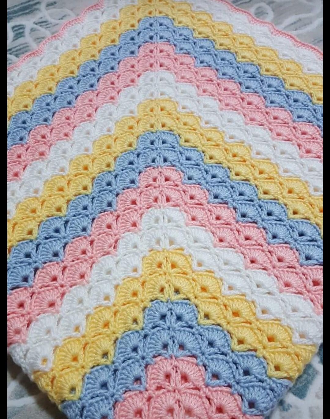 Pin von Sibel ☺ auf Crochet blankets, cloths and mop our | Pinterest