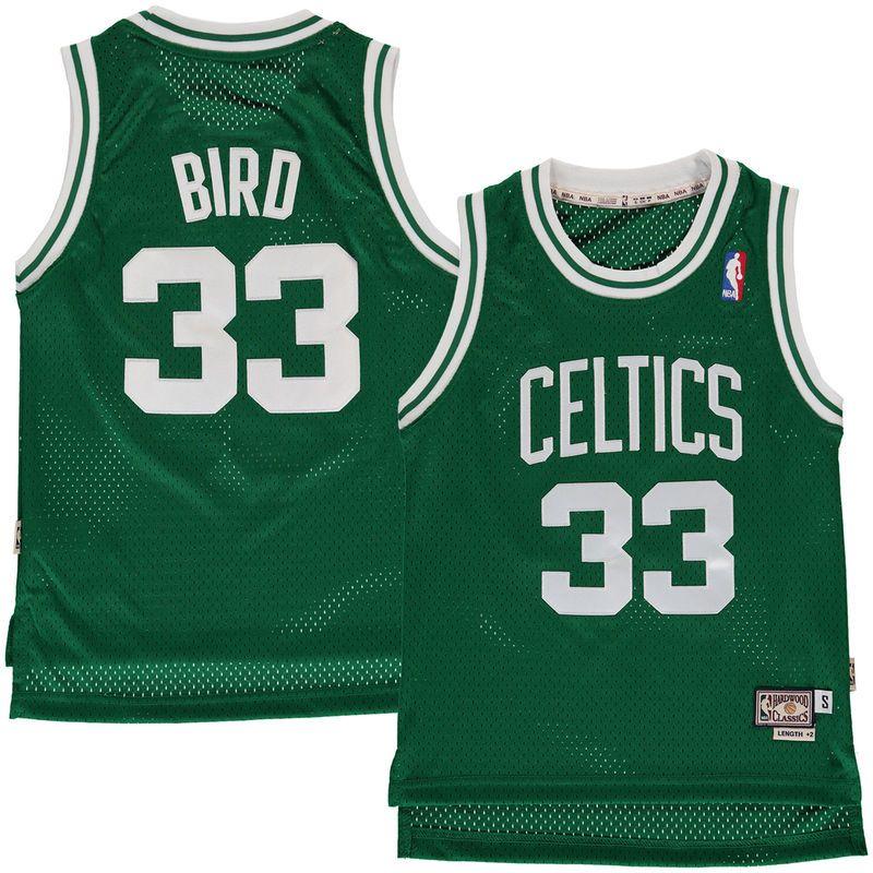 Classic Larry Bird Boston Celtics Jersey