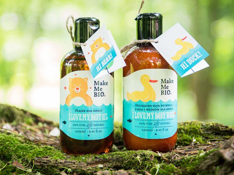 Shampoo Bambini ~ Make me bio kids shampoo package design packagedesign
