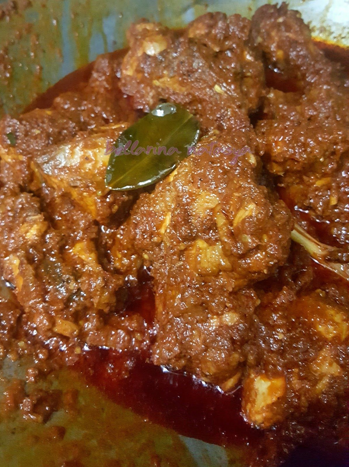 Rendang Raya Rendang Ayam Gula Melaka Food Recipes My Recipes
