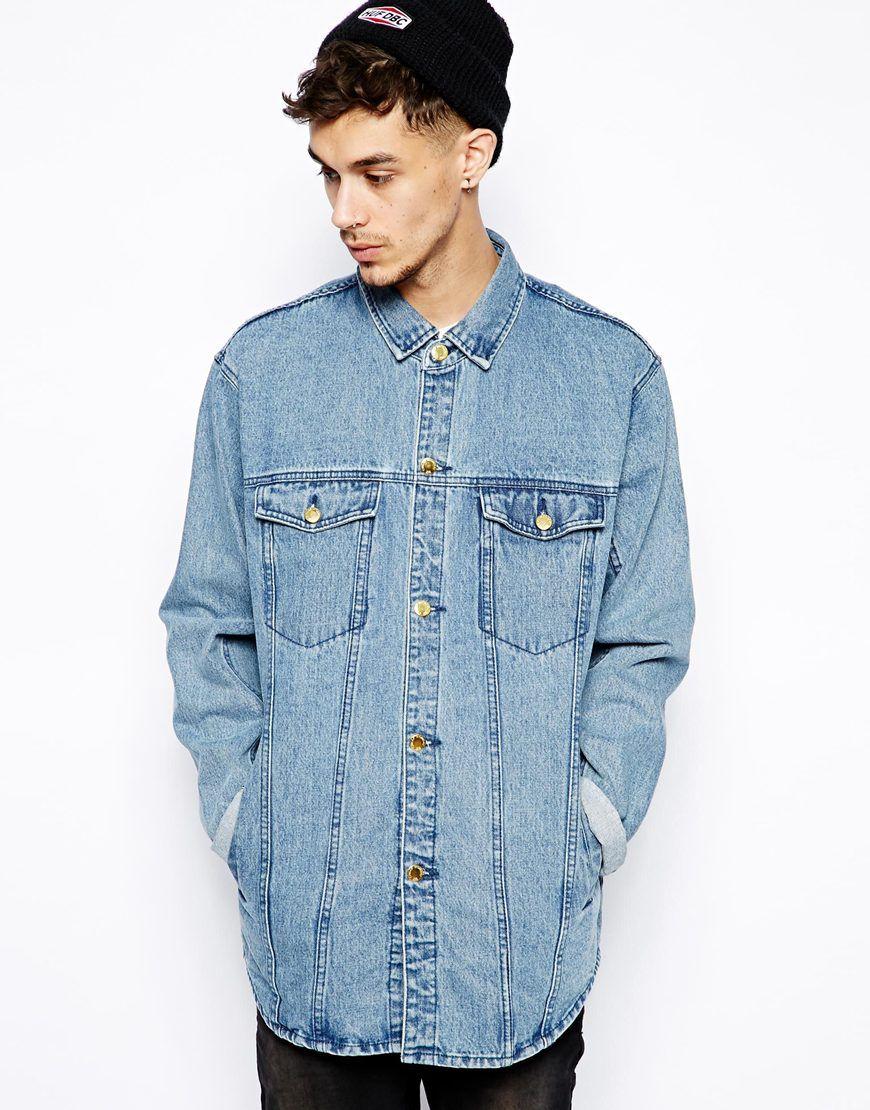 cheap monday veste longue en jean fashion forward male veste en jean veste veste longue