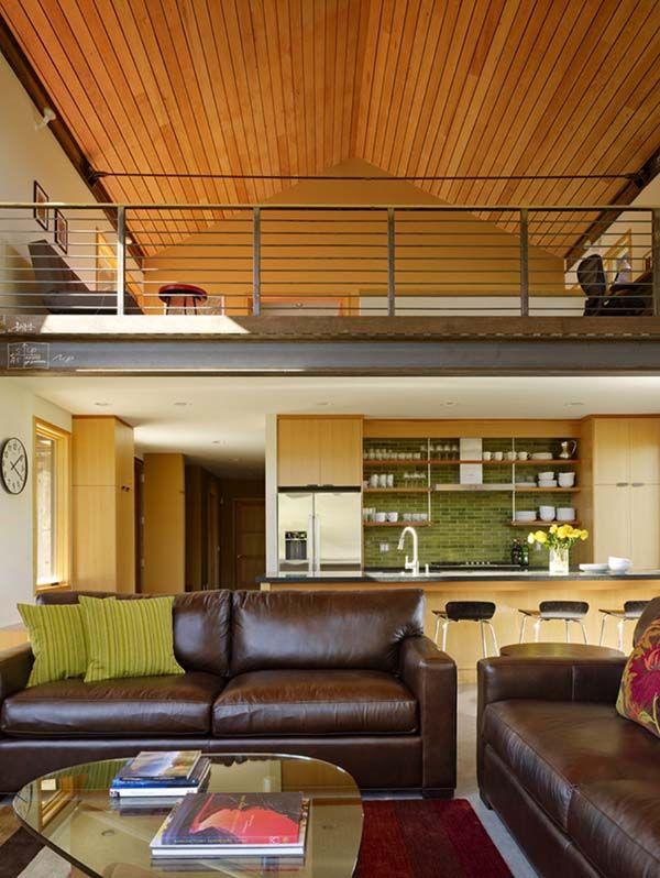 Modern two story sanctuary in Park City, Utah by Carney Logan Burke Architects