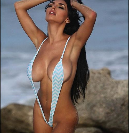 Bikini busty micro