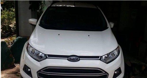 Bán xe ôtô Ford p.6 Cần bán chiếc Ford Ecosport 2016 số sàn màu trắng zin chạy lướt 11.000km mới 98% bao đẹp chưa 1 vết trầy. T