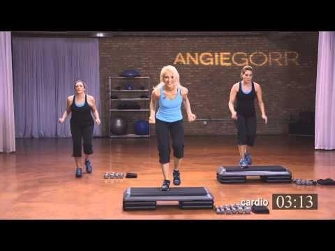 30 Min Quick Total Body Workout Youtube Stepper Ubungen