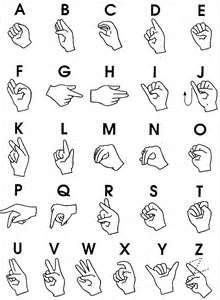 This is ASL (American Sighn Language) I reccomend learing