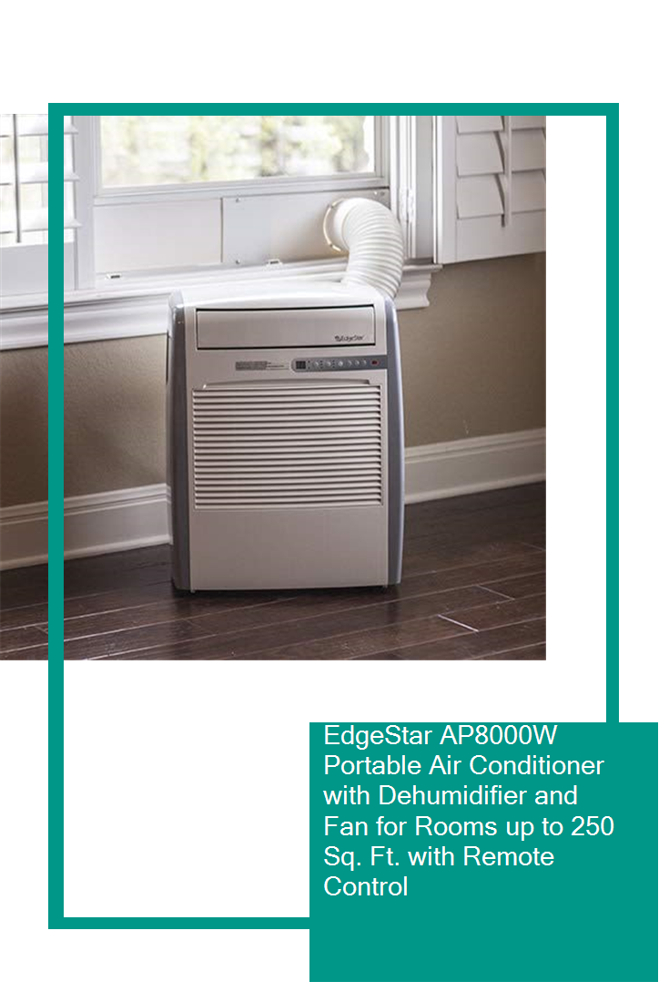 EdgeStar AP8000W Portable Air Conditioner with