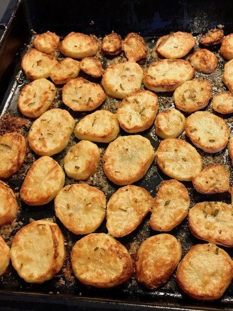 Parmesan-Rosmarin-Kartoffeln #kartoffelrosenrezept Gegrillte Kartoffeln