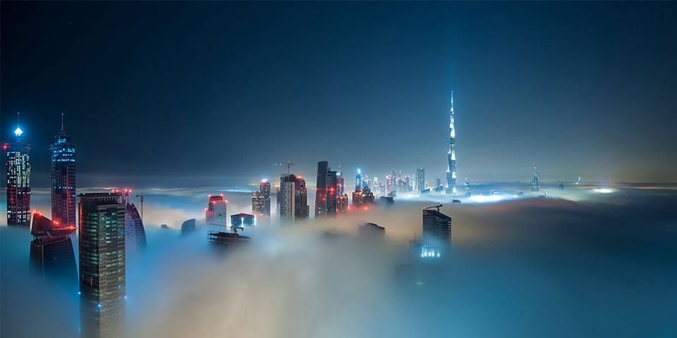 Pin By Simon DUtopia ॐ On Skyscrapers Above The Clouds - 26 amazing photos that will make you want to visit dubai