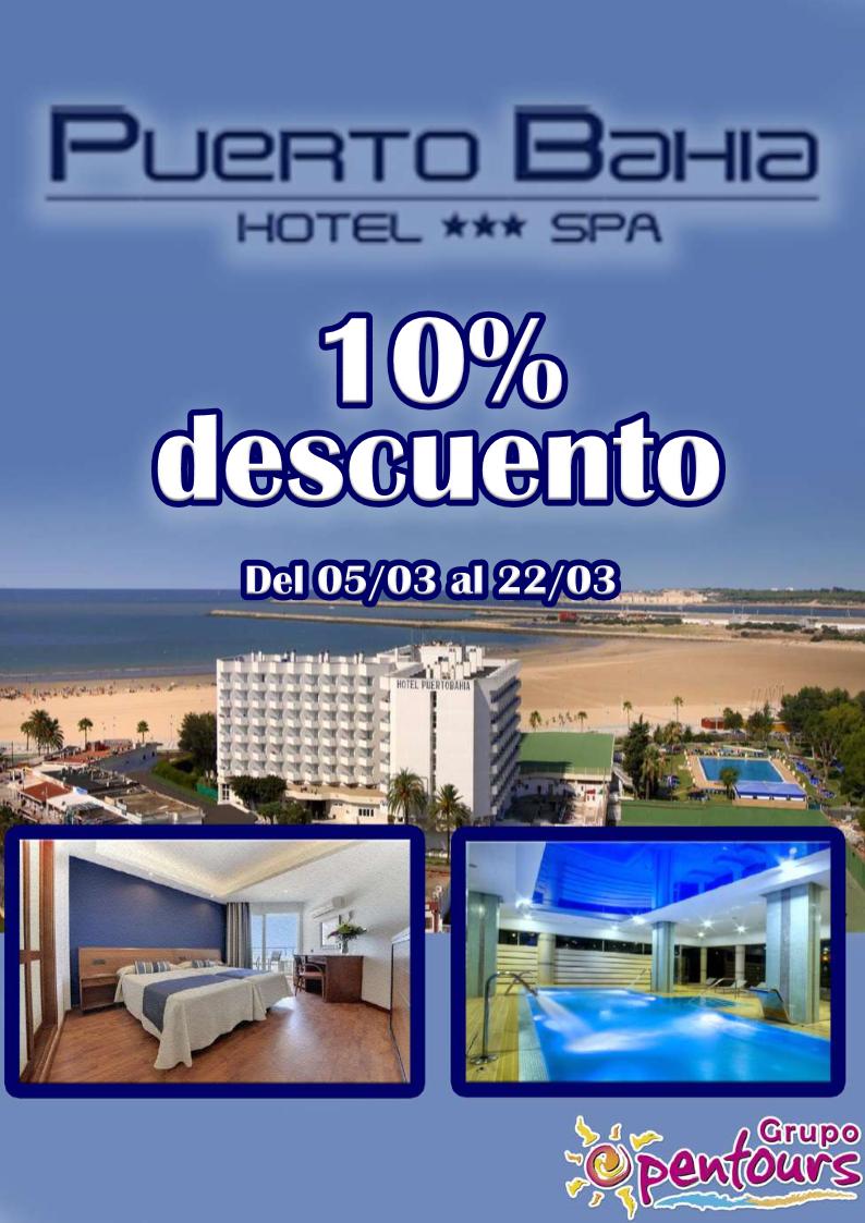 Grupo opentours hotel puerto bah a spa puerto de santa mar a c diz andaluc a - Puerto bahia spa cadiz ...