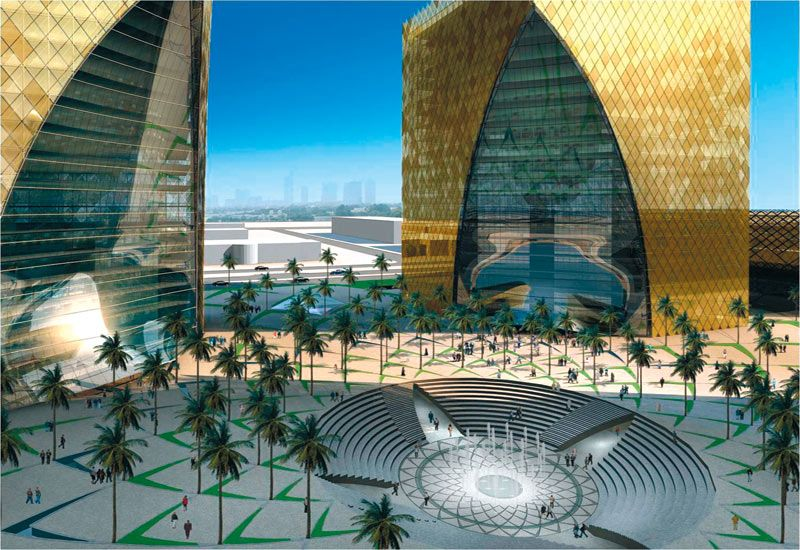 Technology And Information City In Riyadh Kingdom Of Saudi Arabia Under Construction Unique Architecture Architecture City