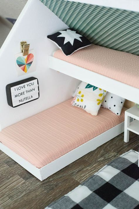 modern dollhouse kids rooms