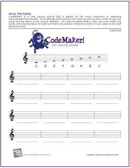 Worksheets Music Theory Worksheets For Middle School 1000 images about music theory on pinterest