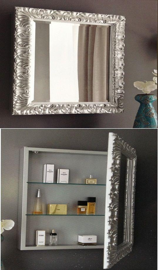 Pimp je badkamer, schep ruimte met een kast en spiegel. Leuk om zelf ...