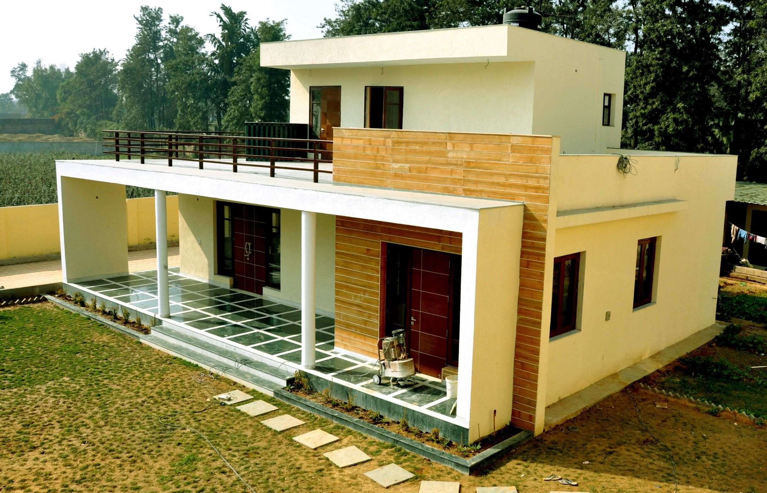 Low Budget Simple Village Home Design Small House Design Plans Small House Elevation Home Design Plans