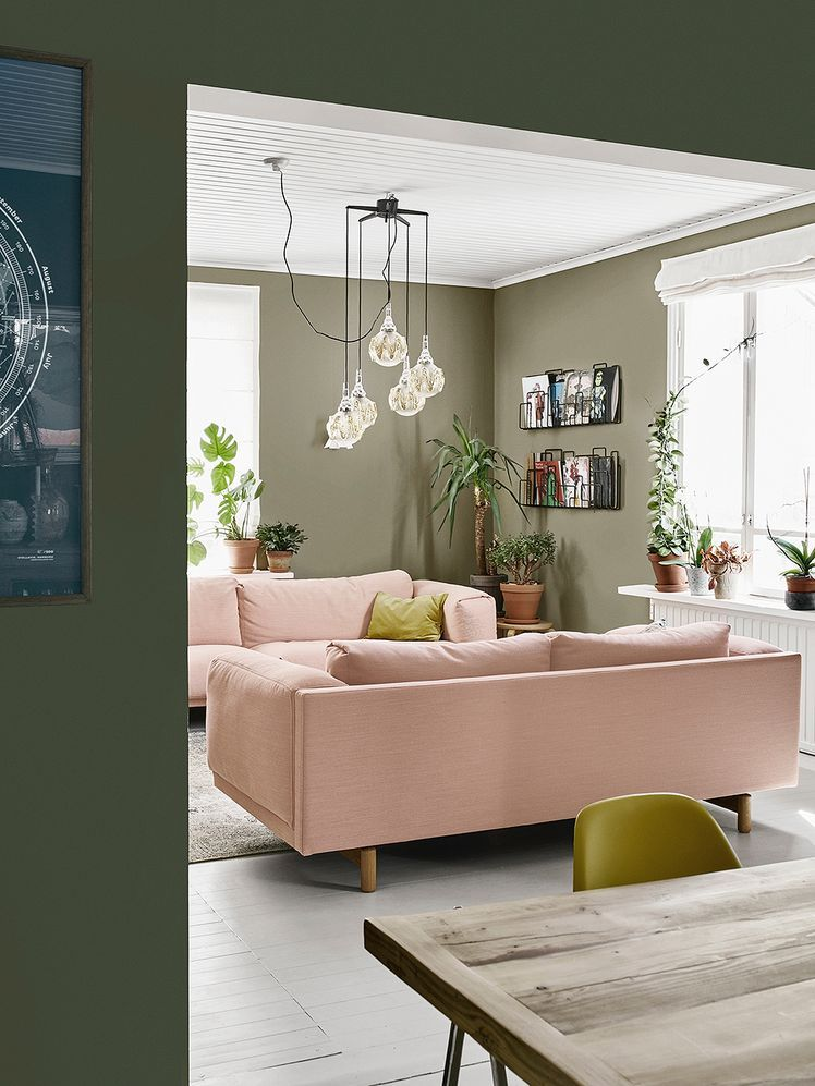 A Wooden House In Kumpula Was Decorated With Striking Colors Design Stories Pink Sofa Living Velvet Sofa Living Room Pink Sofa Living Room #pink #couch #living #room #ideas