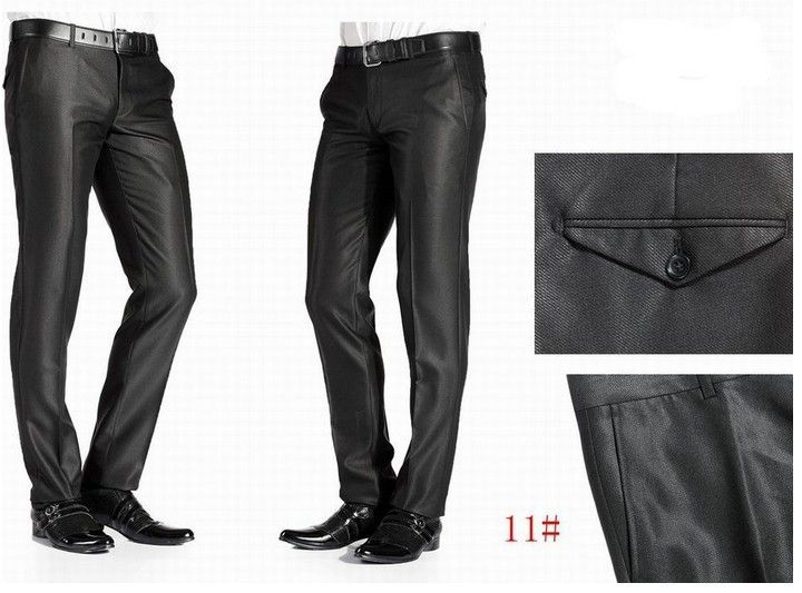 Hot-Sale-Slim-Fit-Dress-Pants-Men-Business-Suits-Pants-Fashion ...