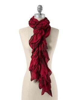 Love this scarf, great bold color for autumn