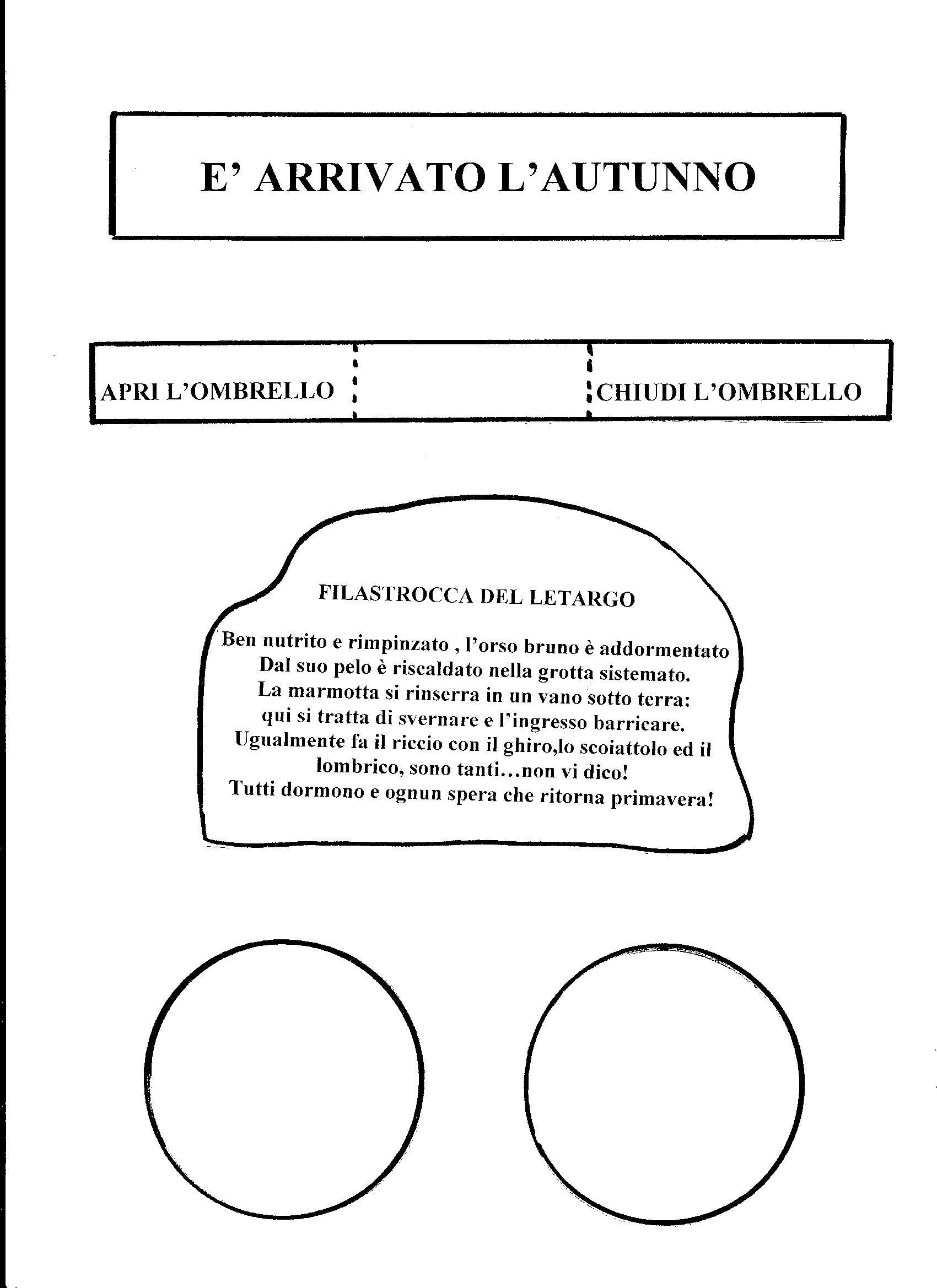 Lapbook Dell Autunno Maestrarenata Lavoretti Pinterest