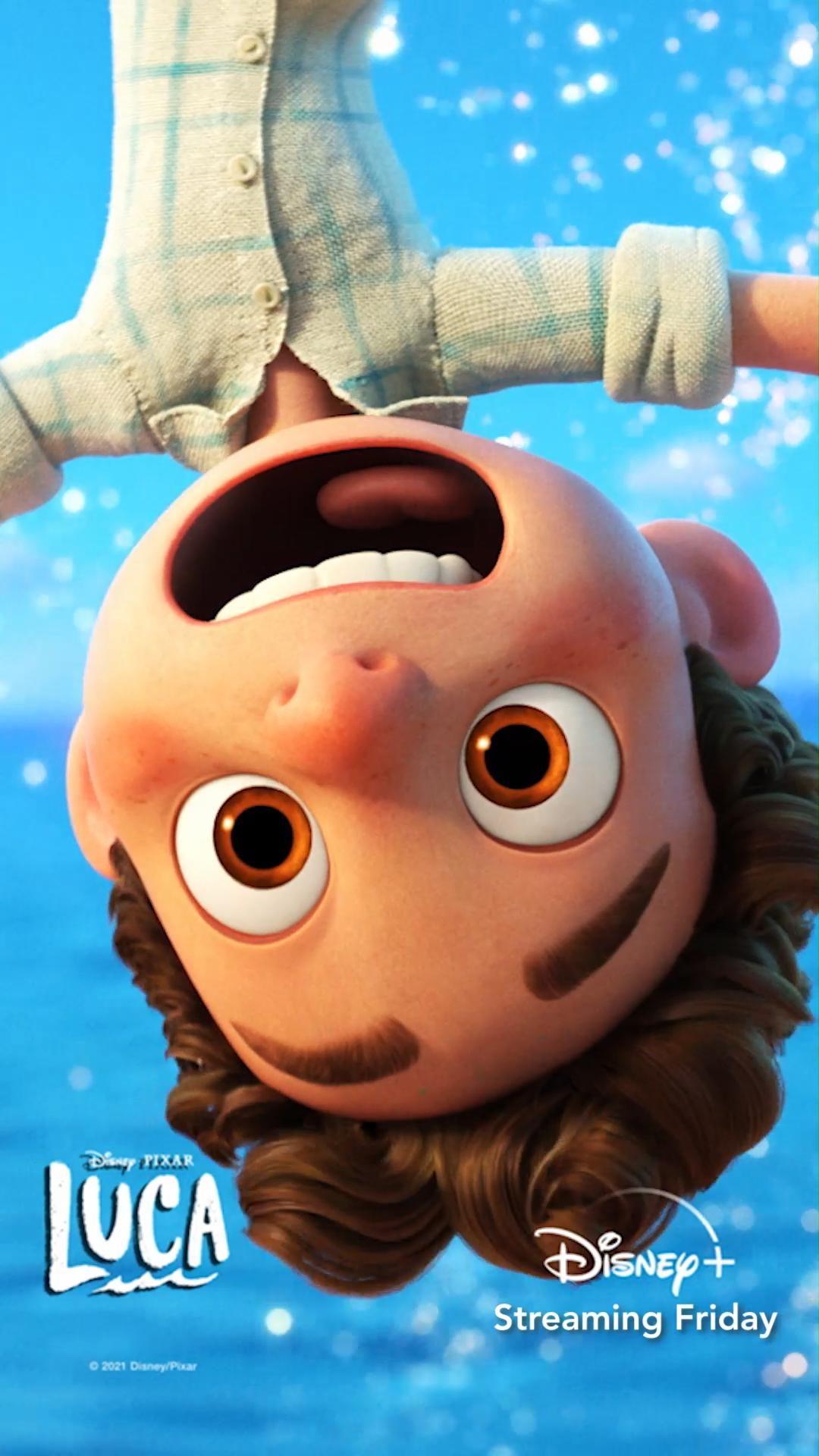 Disney And Pixar S Luca Friday Video In 2021 Pixar Lucas Movie Disney