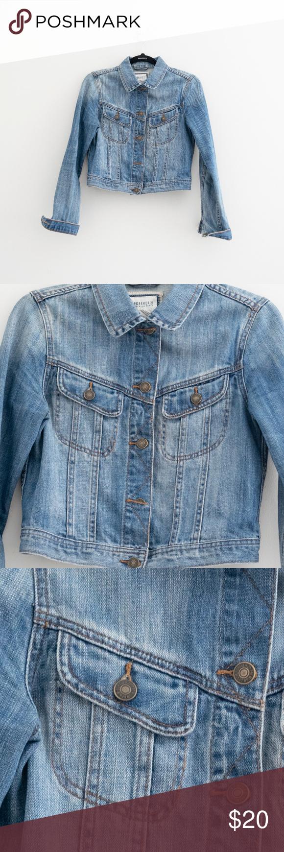 Forever 21 Premium Denim Jean Jacket Premium Denim Jeans Premium Denim Denim Jean Jacket [ 1740 x 580 Pixel ]