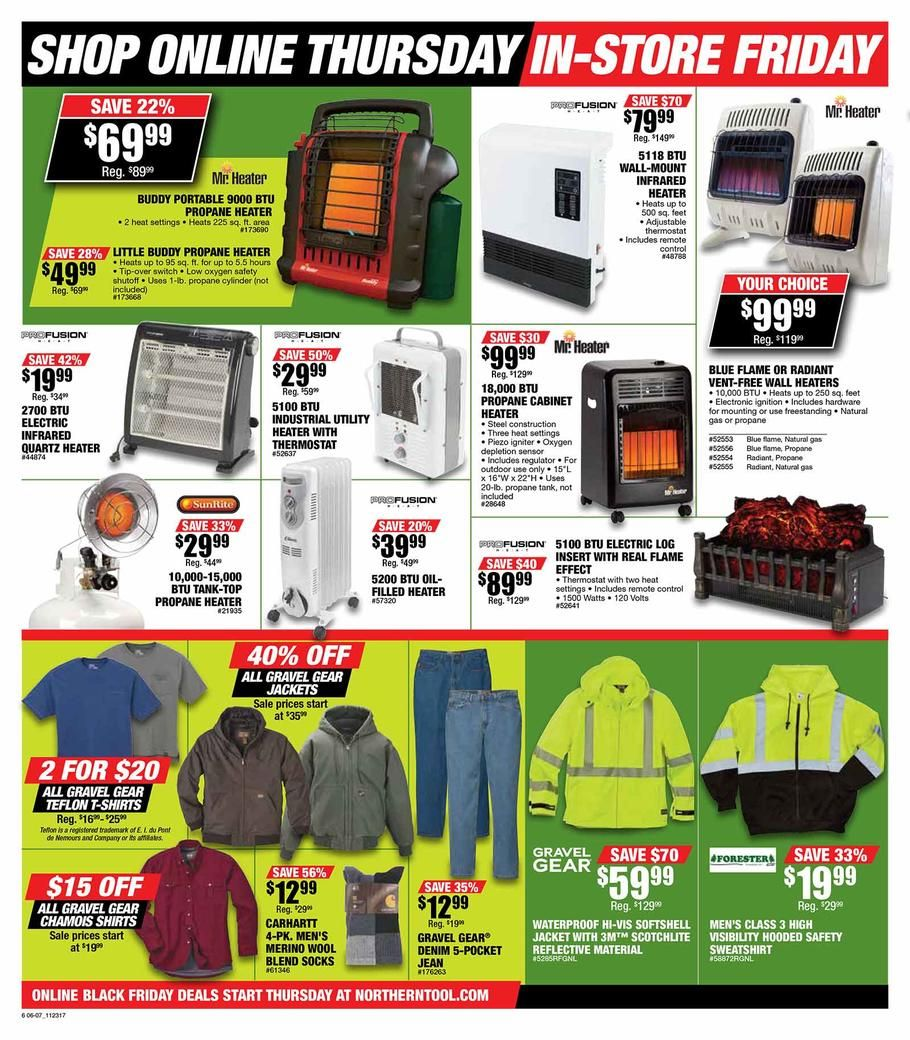 Northern Tool Black Friday 2017 Ads And Deals Shop At The One Of The Leading Retailers In The Tool And Equipment Industry When You C Black Friday Northern Sale