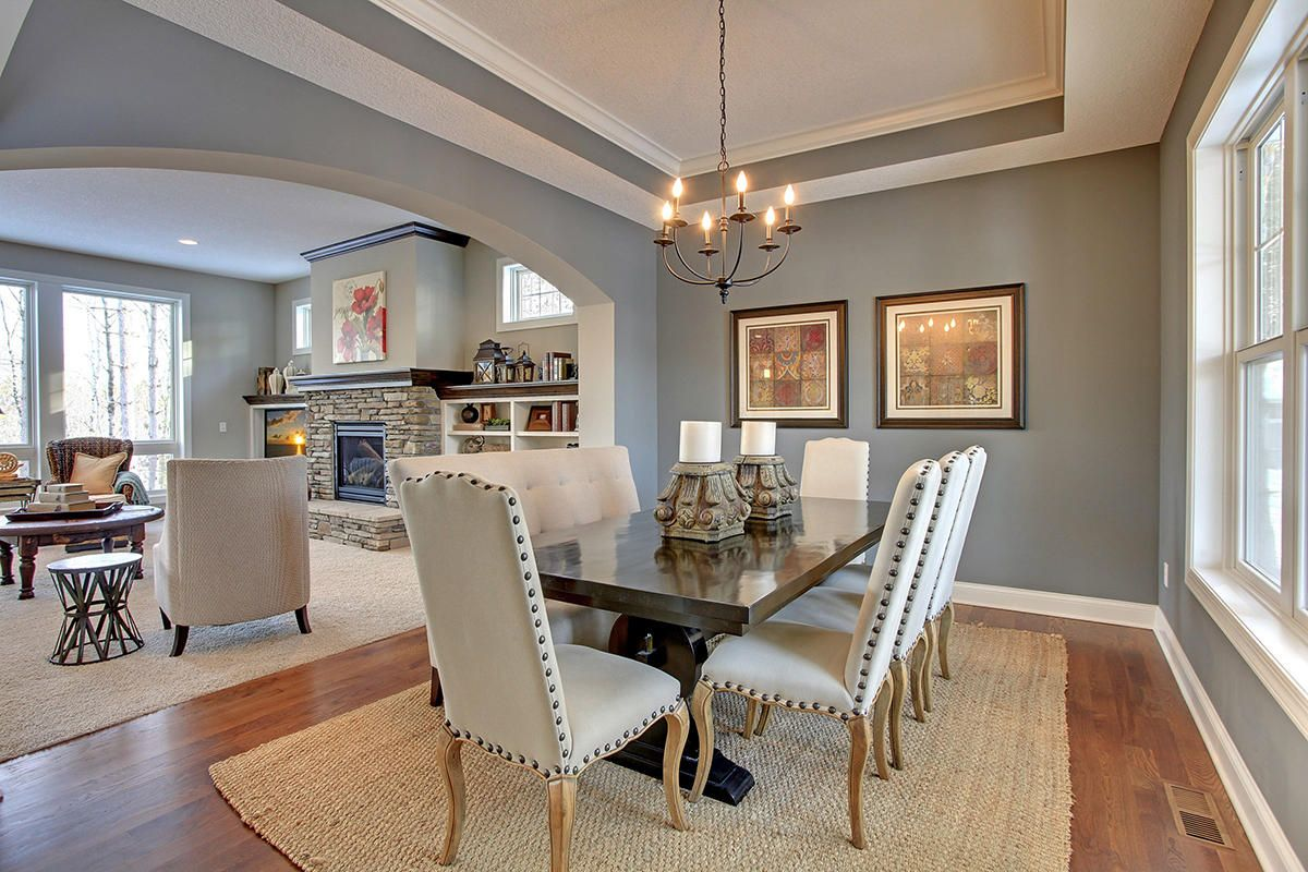 10 Beautiful Dining Rooms With Coffered Ceilings Beautiful