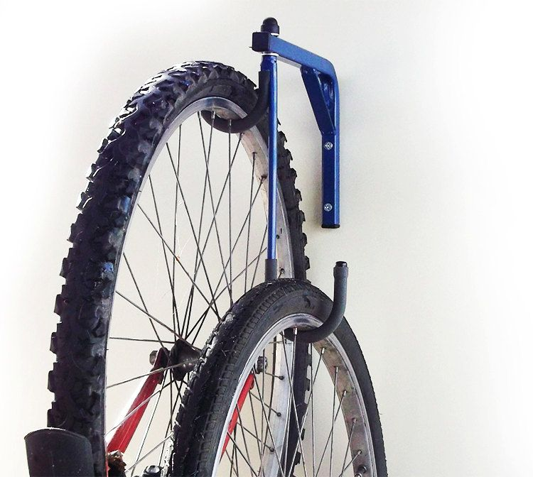 how to hang bike on wall with hook