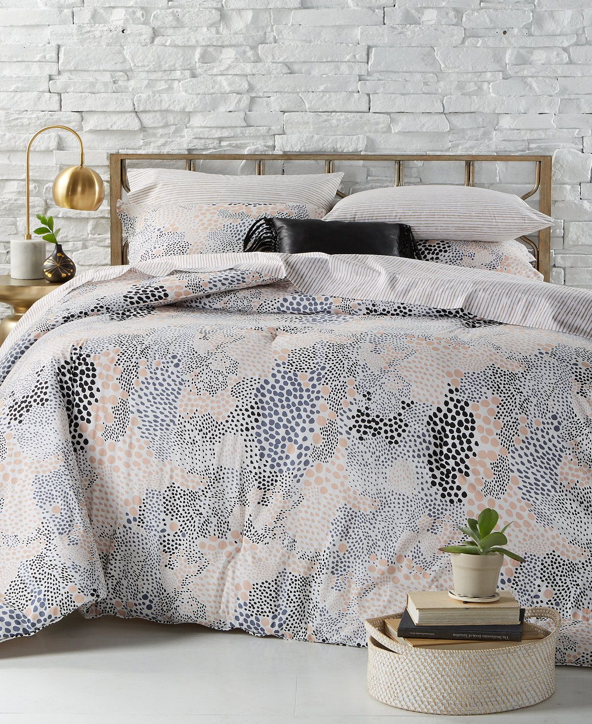 Bcbgeneration Pebble Noir Bedding Collection Bedding Collections