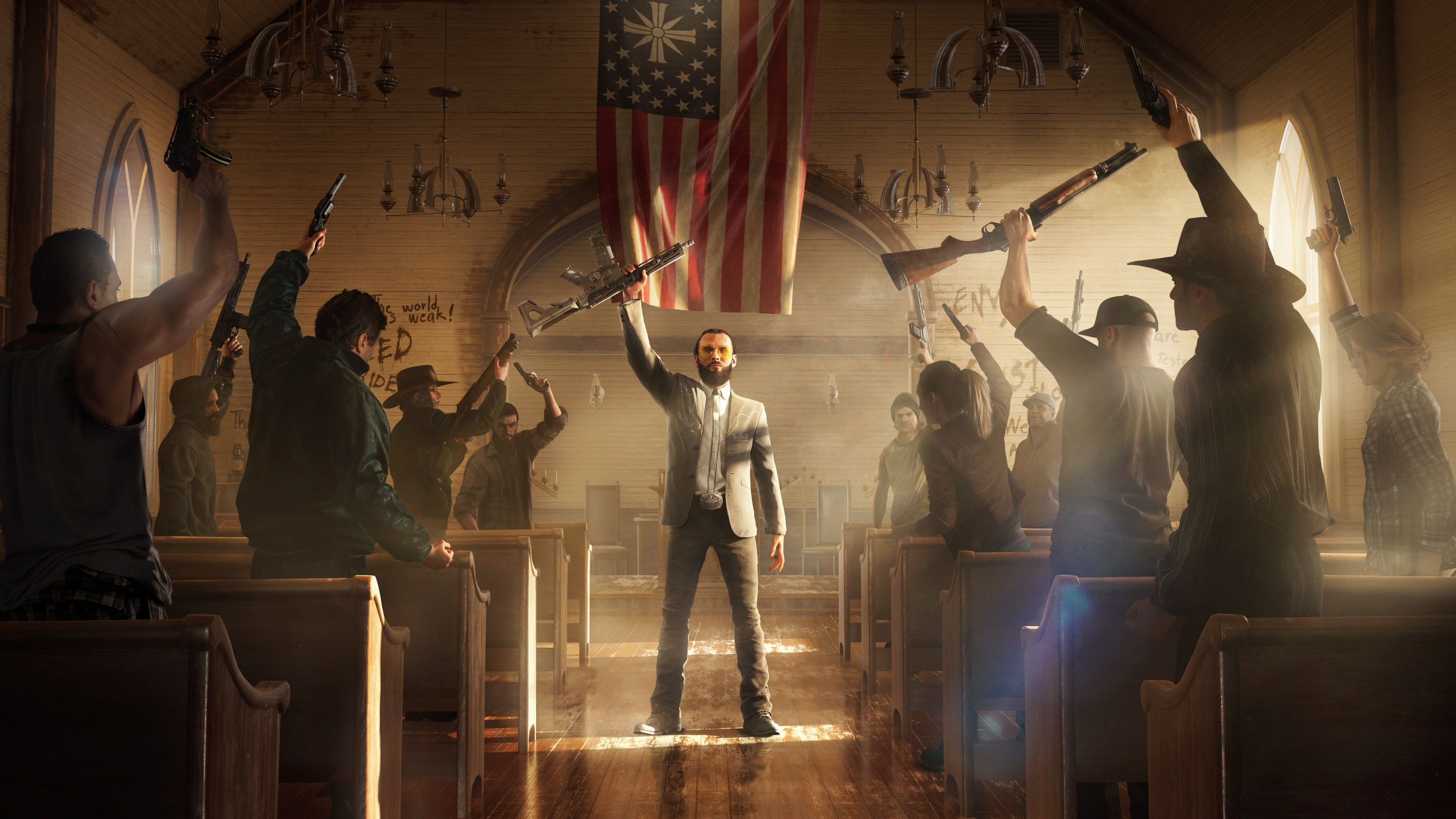 3840x2160 Far Cry 5 4k Cool Wallpaper Pc Far Cry 5 Far Cry 5 Game Crying