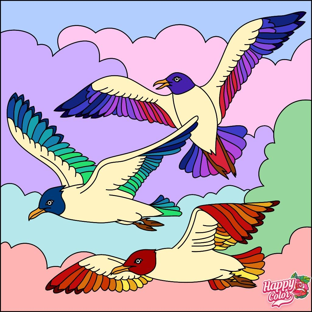 Pin By Nat On Parcel Color By Numbers Coloring Book App Happy Colors Coloring Books
