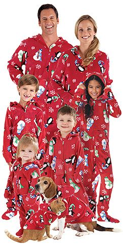 Hoodie-Footie™ Winter Whimsy™ for the Whole Family | P.J.'s ...