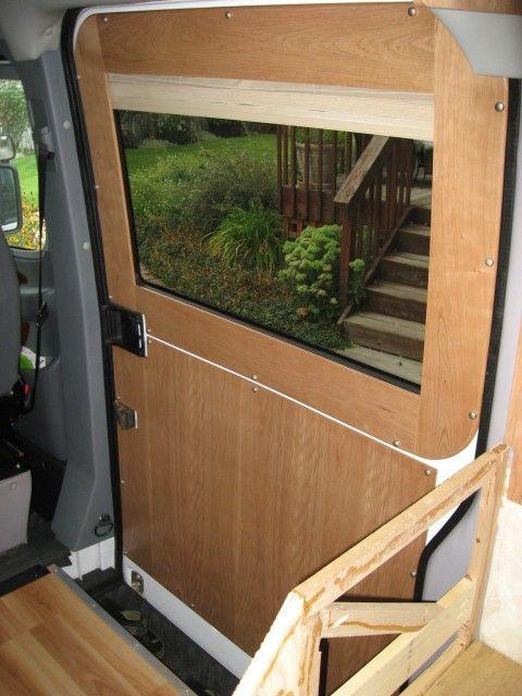 RV Sprinter Door Paneling