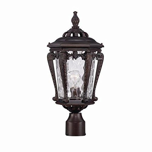 acclaim 3557abz stratford collection 1 light post mount outdoor