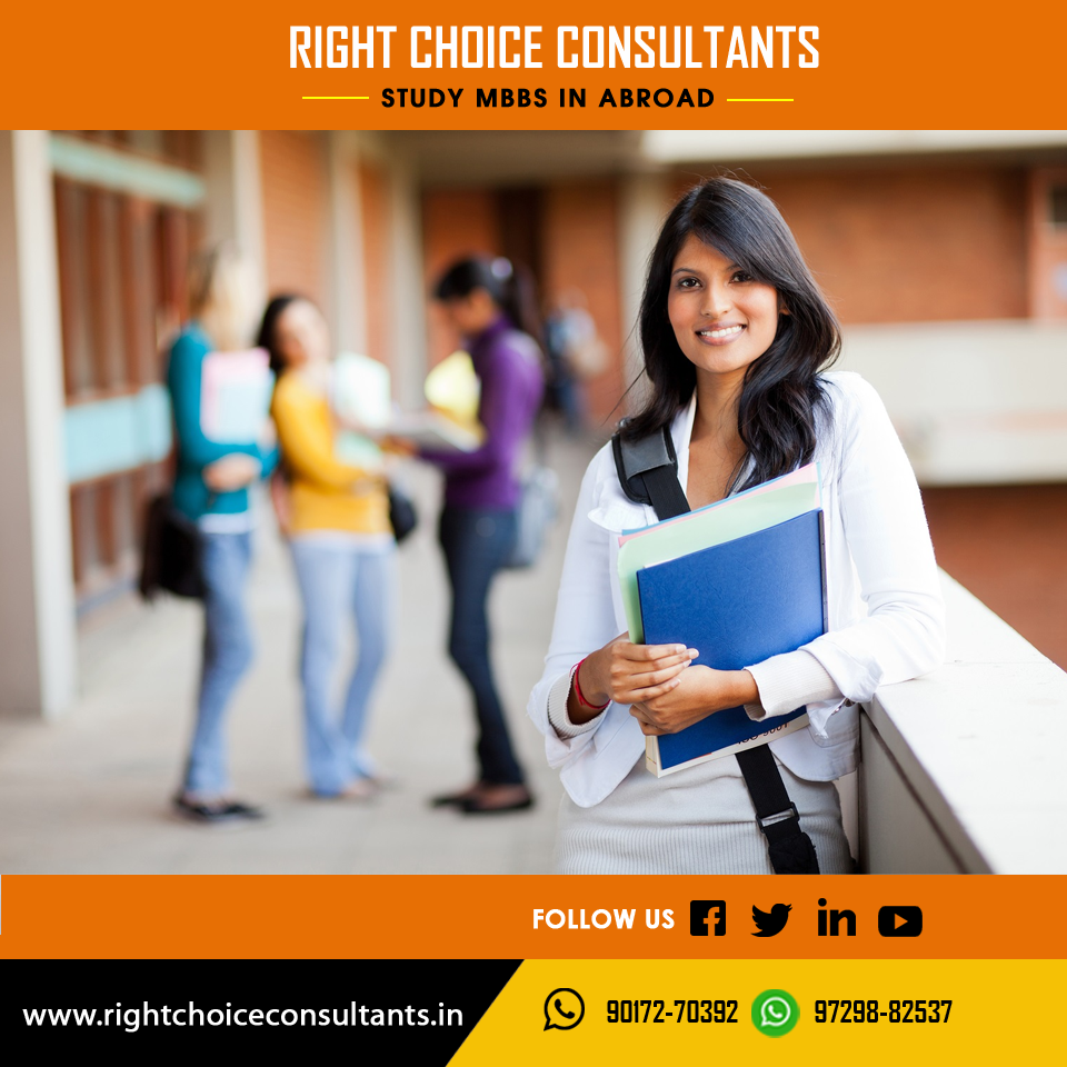 Right Choice Consultants Helps You To Study Mbbs In Abroad In Top