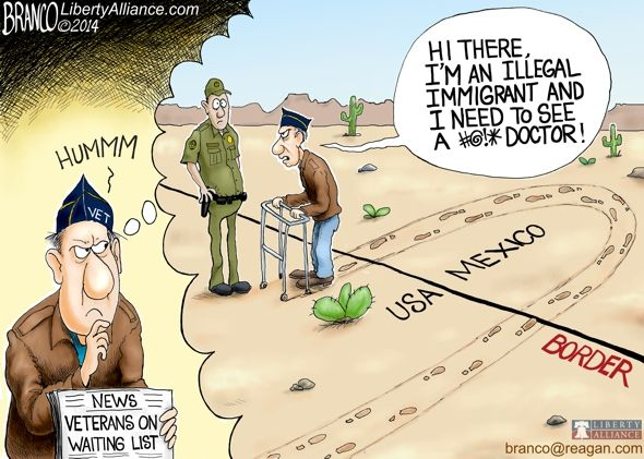 Illegal Aliens Get Better Healthcare than our Vets » Eagle Rising