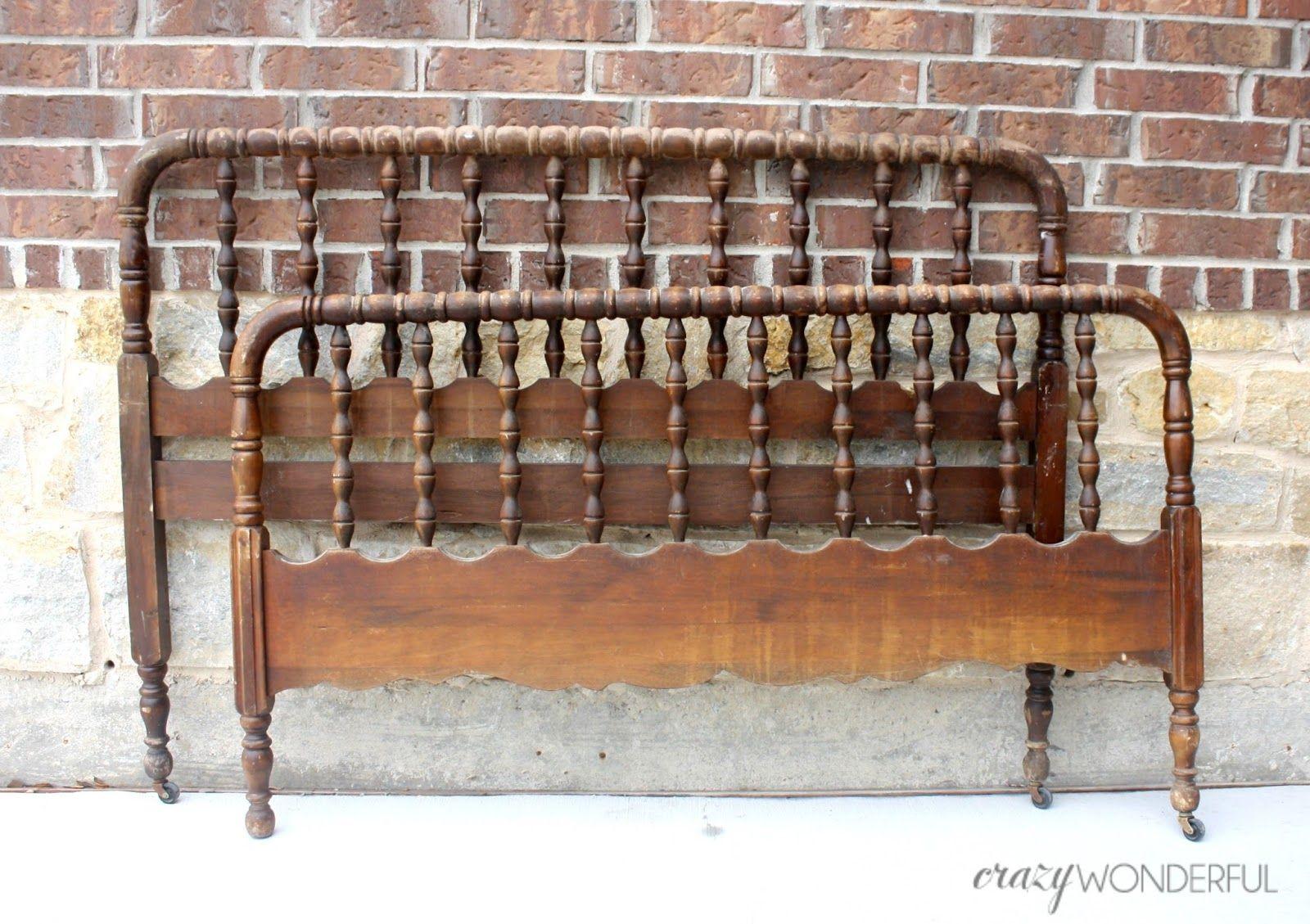 jenny lind bed paint + DIY bed rails Jenny lind bed, Diy