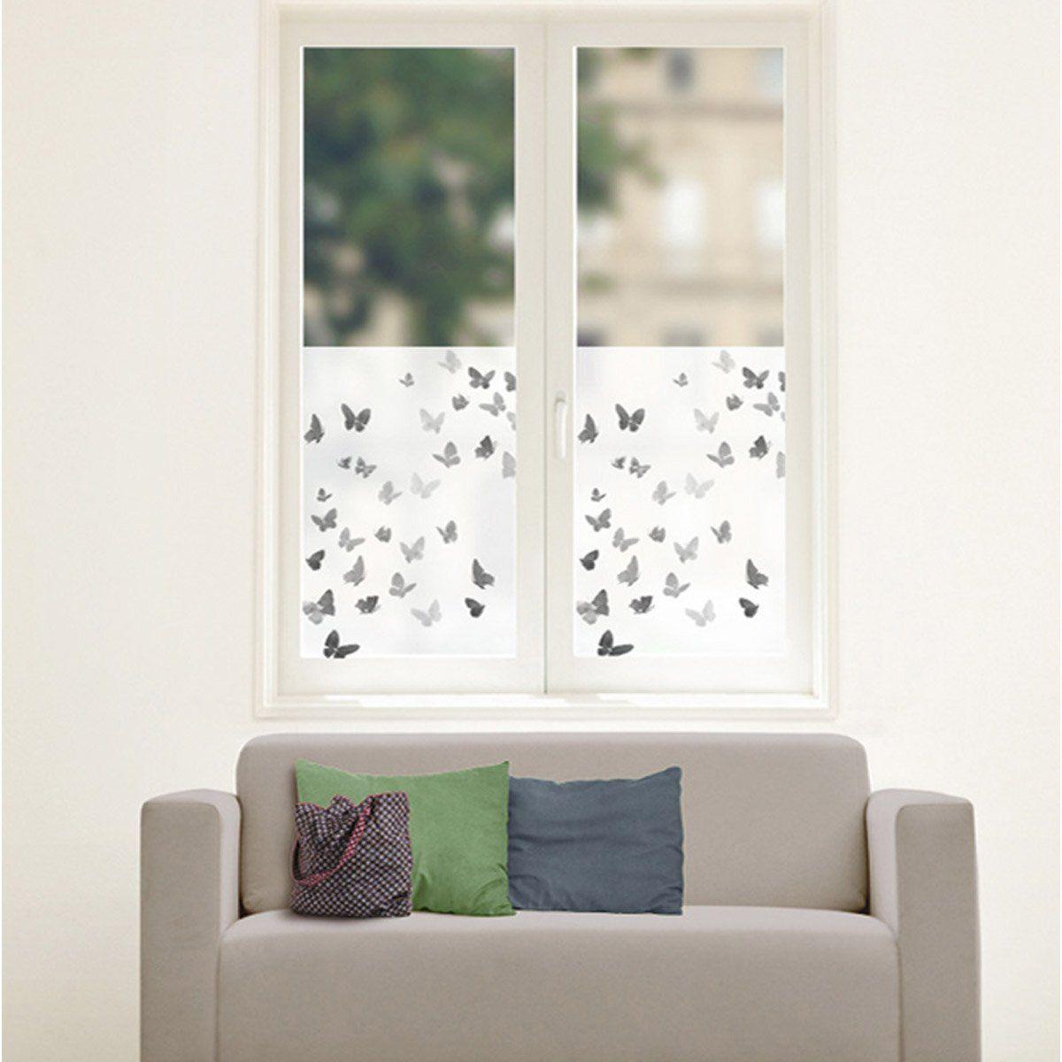 Sticker Papillons 50 Cm X 70 Cm Butterfly Wall Decals Window Film Designs Window Clings