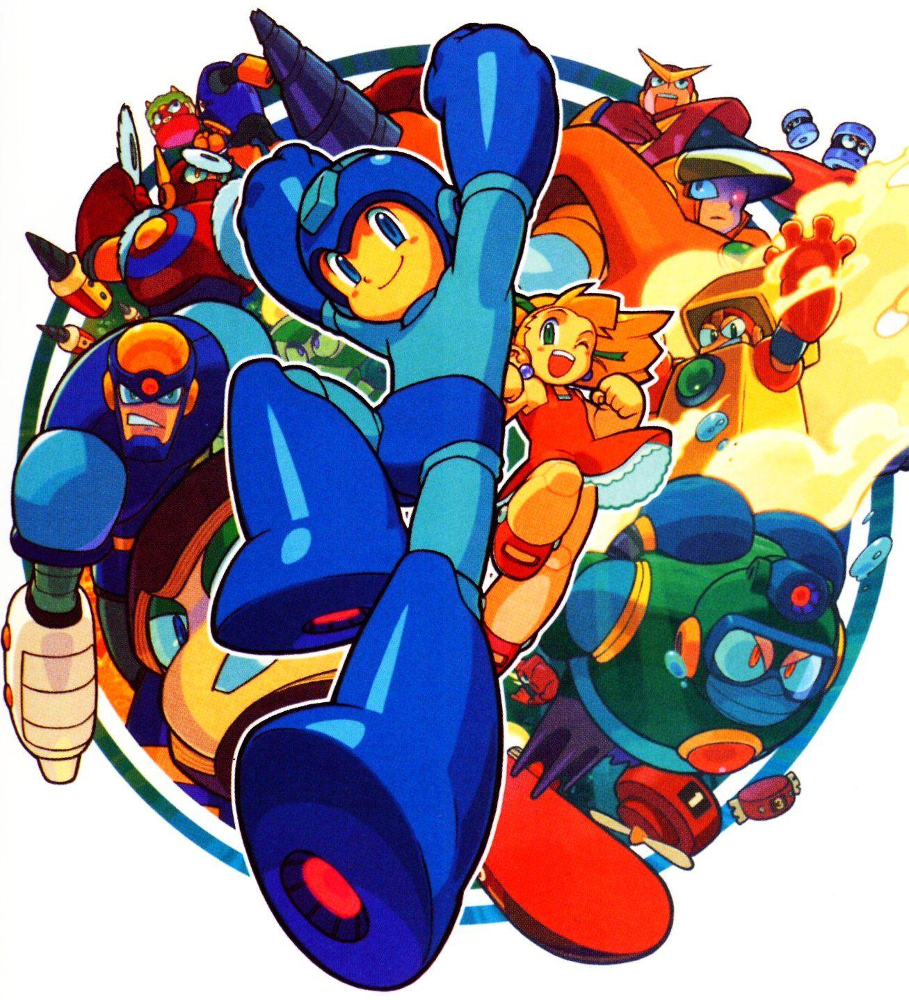 MegaMan Mega man, Mega man 2, Marvel vs
