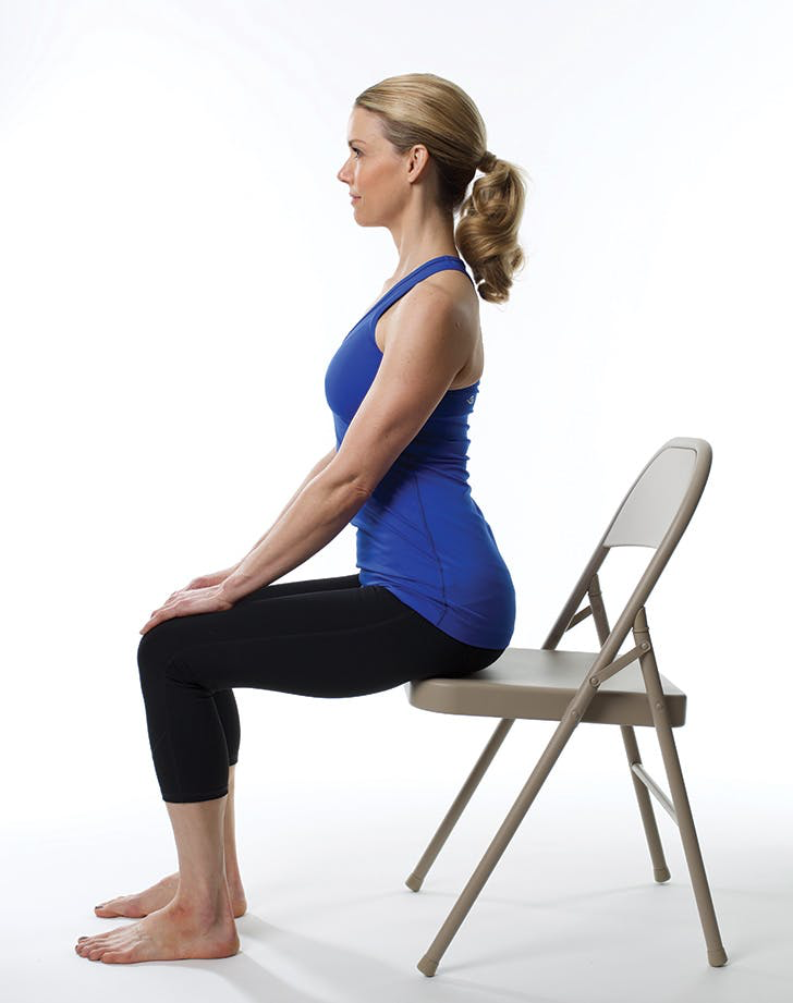 De-Stress Instantly with This Easy Chair Yoga Flow