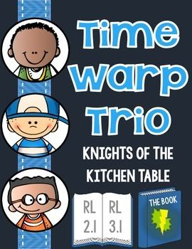 Time Warp Trio Knights Of The Kitchen Table Book Questions Book Summary 4th Grade Reading
