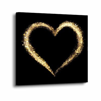 Wrought Studio™ 'Expensive Heart 1' is a wonderful reproduction featuring a beautiful illustration of a heart. A gorgeous conversation piece that will complement any home or office. Format: Wrapped Canvas, Size: 24