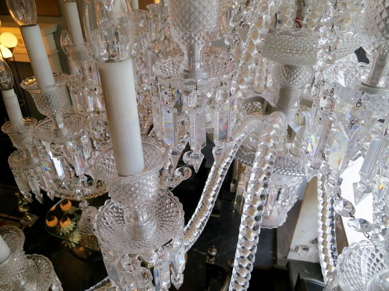 Large thirty six arm baccarat zenith chandelier designed by large thirty six arm baccarat zenith chandelier designed by philippe starck arubaitofo Gallery